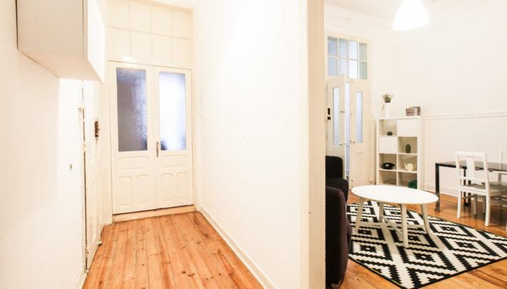 Corridor & living room